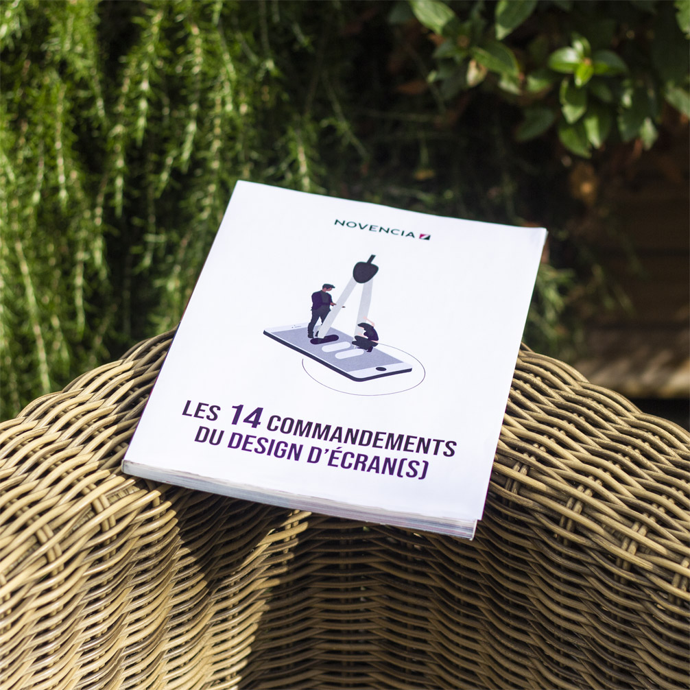 "Photo de l'Ebook ""Les 14 commandements du design d'écran(s)"