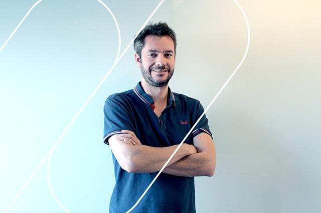 Visuel pour les interviews de Jean-Sébastien Bret